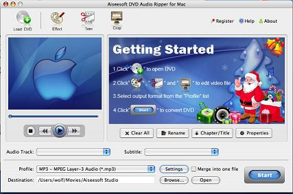 DVD to AAC for Mac, best Mac DVD AAC Audio Ripper, DVD to